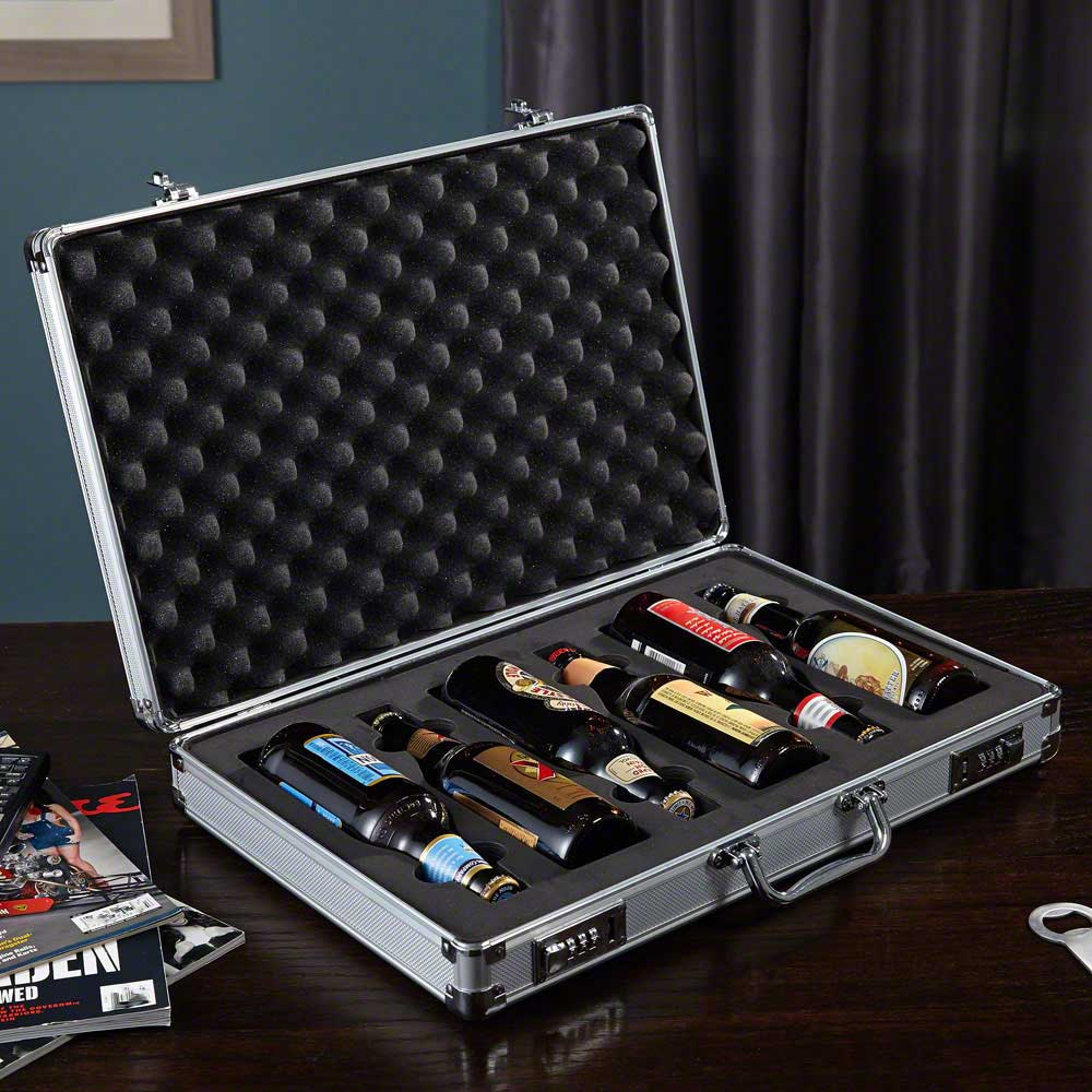 SECRET AGENT BRIEFCASE BEER CARRIER