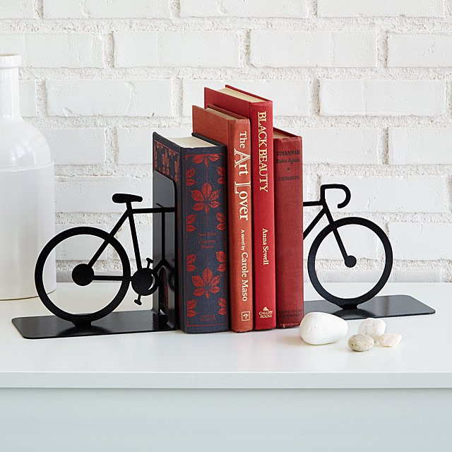 Charming Set of Steel Bookends